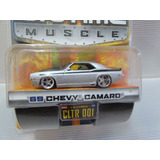 Jada Toys Big Time Muscle   1969 Chevy Camaro   Dub City