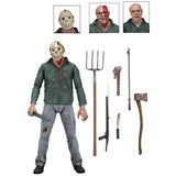 Jason Ultimate Part 3   Friday The 13th   Neca  lacrado