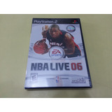 Jogo Nba Live 06 Playstation 2 Original