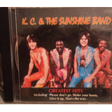 K c  & Sunshine Band  cd    Coletânea The Best Of