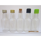 Kit   50 Mini garrafinhas Pvc 50 Ml Com Tampa S� 0 45 Cada