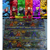 Kit 15 Bonecos Dragon Ball Dragonball Z Anime Articulaveis