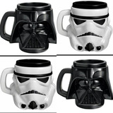 Kit 2 Caneca Star Wars Darth Vader Stormtrooper Original