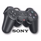 Kit 2 Controles Manete Serie A Original Ps2 Sony memory Card