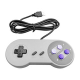 Kit 2 Controles Super Nintendo Snes Usb Para Pc Mac Linux
