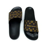 03095bc7e Kit 2 Pares Chinelo Louis Vuitton Supreme Masculino Feminino