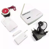 Kit Alarme Residencial Discadora Chip Gsm Wireless Celular