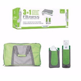 Kit Balança 3in1 Fitness Wii Fit Mochila Capa Controles Novo