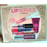 Kit Batom Gloss Sephora Lip Service Lip Tar Smashbox Tarte