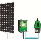 Kit Bomba Solar Anauger P100   Poço Com Painel 270w Canadian