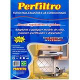 Kit C  10 Filtro Coifas  Exaustores  Purificadores