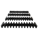 Kit Cable Combs Rise Mode Cabo Sleeved 19 Un Varias Cores