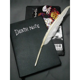 Kit Caderno Death Note   Caneta Pena   Cd   Colar