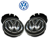 Kit Calota Centro De Roda Vw Volks Polo 2011 2012 2013 2014
