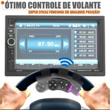 Kit Central Multimídia Universal 2 Din 240w Mp5 Tela 7 Touch