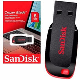 Kit Com 5 Pen Driver 8gb Sandisk Original