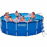 Kit Completo Piscina Intex 16 805 Litros Estrutural Arma��o