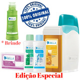 Kit Depila��o Cera Sistema Roll on Depil Bellla Original