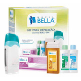 Kit Depila��o Cera Sistema Roll on Depil Bellla