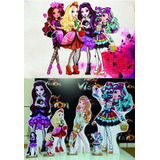 Kit Display Ever After High 8pç   Painel 2x1 5 Envio 48hs