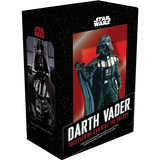 Kit Est�tua Darth Vader E Livro  Star Wars   Novo