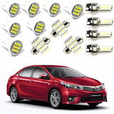 Kit Lâmpada Super Led Xenon Toyota Corolla 2015  2016