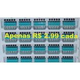 Kit Lote 50 Micro Switch Chave Fim Curso Alavanca Haste