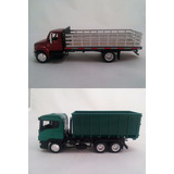 Kit Miniaturas Caminhão International   Scania Licenciados