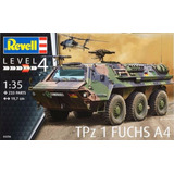 Kit P  Montar Revell 03256 Tanque Alemao Tpz 1 Fuchs A4 1 35
