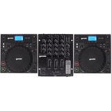 Kit Pick up Dj  completo  2 Cdj 250   1 Mixer Ps3 Usb Gemini