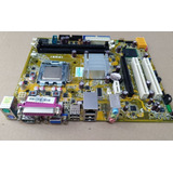 Kit Placa Mãe Ipm31 Core 2 Duo 3 0 Ghz   4gb Ddr2   Completo