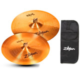 Kit Pratos Zildjian Zbt Zbte2p 18 Crash   18 China   Brinde