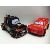 Kit Rel�mpago Mcqueen E Mate  Disney Carros