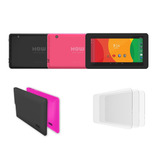 Kit Tablet How Ht704 Quad Core   Capa Silicone   3 Películas
