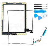 Kit Tela Touch Ipad 2   Frame   Flex Wifi   Kit Ferramentas