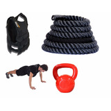 Kit Treinamento De For�a  Resist�ncia E Potencia Rope Store