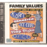 Korn  Incubus  Orgy  Ice Cube   Cd Family Values Tour 98
