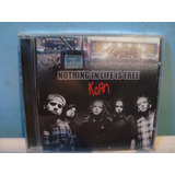 Korn   Nothing In Life Is Free   Cd Importado