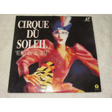 Laser Disc   Ld   Cirque Du Soleil   We Reinvent The Circus