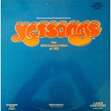 Laser Disc   Yes � Yessongs The 1973 Concert Video Of Yes