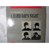 Laser Disc The Beatles In A Hard Days Night   Importado