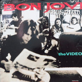 Ld  Bon  Jovi     Cross  Road      The   Video    Laser Disc