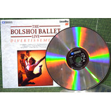 Ld The Bolshoy Live Divertissements  laser Disc  Duplo
