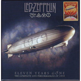 Led Zeppelin Box Eleven Years Gone 10 Cd s E 2 Dvd s Novo
