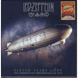 Led Zeppelin Eleven Years Gone  Box Com 10 Cds E 2 Dvds
