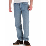 Lee Relaxed Fit Calça Jeans 52br Masc 42x32 Light Stone