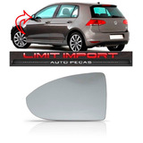 Lente Do Retrovisor Com Base Golf Ano 2014 2015 2016 Le