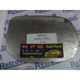 Lente Retrovisor Honda New Civic