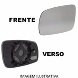 Lente Vidro Retrovisor C  Base Golf 08 09 Polo 2011 Esquerdo
