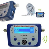 Localizador De Satellite Sf 95dr Digital Finder Com Bussula